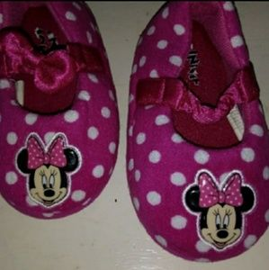 Toddler Disney Minnie Mouse Girl House Shoes